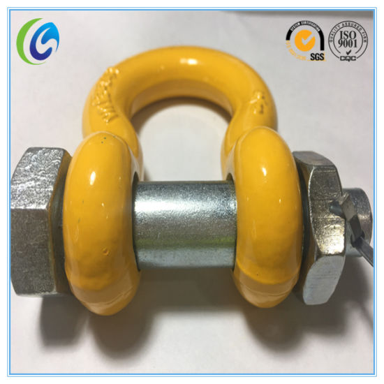 Powder Plastified Forged G2130 Shackle pictures & photos