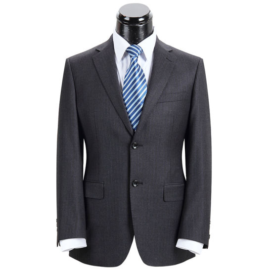 New Style Two Pieces Tailored Men Business Suit