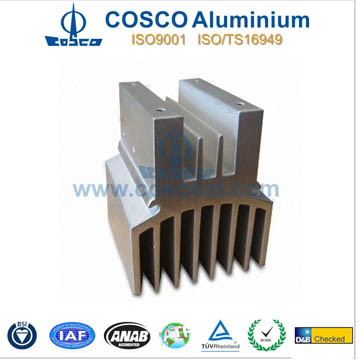 Aluminum/Aluminium Heat Sink for Electronics with ISO9001 and Ts16949 pictures & photos