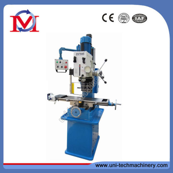 China Metal Geared Head Drilling and Milling Machine (ZX7045) pictures & photos