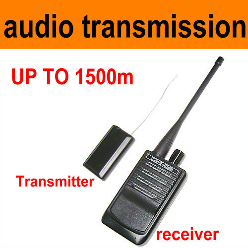 Micro Wireless Audio Transmitter Audio Bug, up to 300-500mters (CW-03)