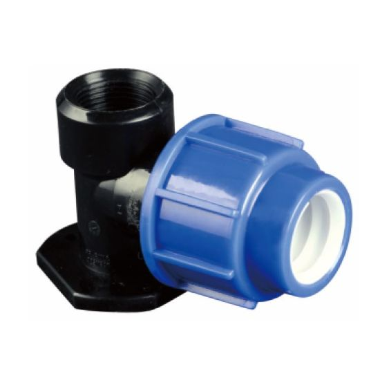 PP Era Brand Irrigation Fitting with Bracket Drip Female Thread Elbow with Watermark & Wras Certificated
