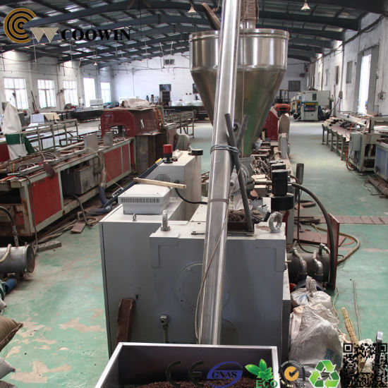 High-Performance Wood Plastics Composite Decking/ Cladding Production Line pictures & photos
