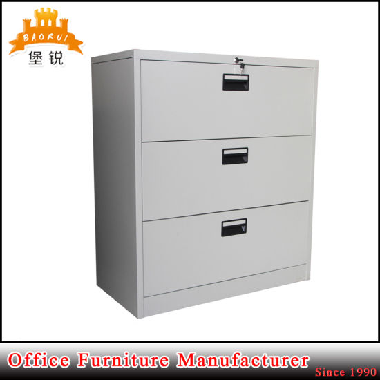 Most Por Metal Three Drawers Lateral File Cabinet