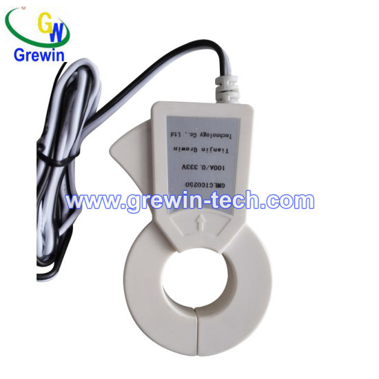 Silicon Steel & Nickel Alloy 200A Output Voltage Clamp Sensor for Current Measurement