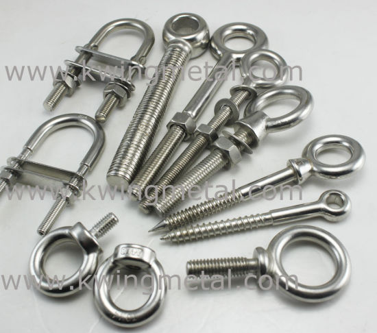 Stainless Steel Welded Eye Bolt pictures & photos