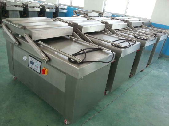 304 Stainless Steel Automatic Vacuum Pack Machine&Vacuum Packing Machines for Food pictures & photos