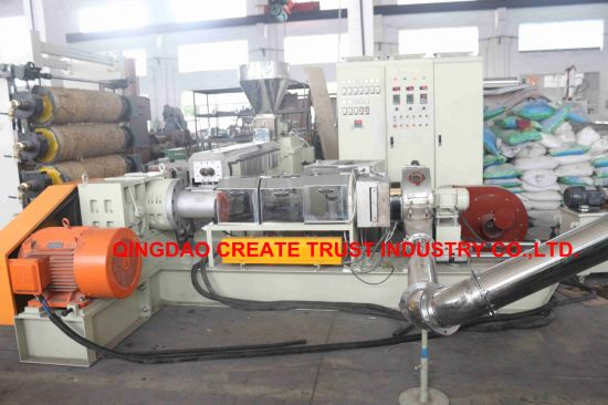 Hot Sale High Technology PE/PP/LLDPE/EVA/Carbon Black Masterbatch Extruder Machine pictures & photos