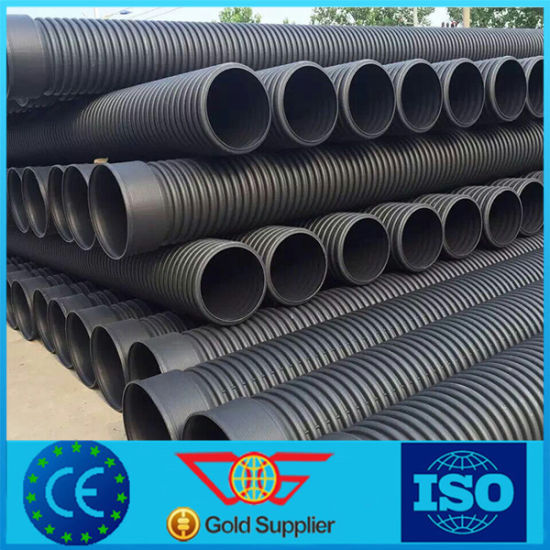 Sewer and Drainage Pipe of HDPE Material & China Sewer and Drainage Pipe of HDPE Material - China PE Pipe HDPE ...