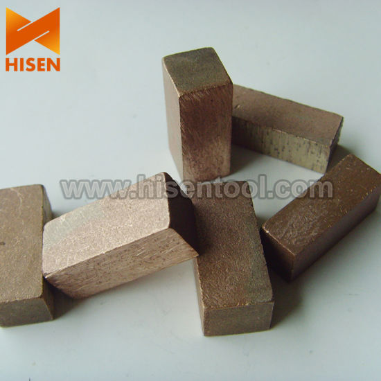 Excellent Performance Diamond Segments for Cutting Sandstone pictures & photos