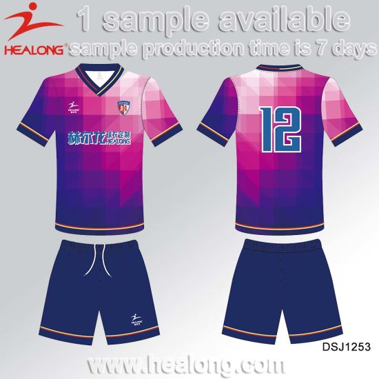 Sublimation Man Team Set Soccer Uniform Football Jersey pictures & photos
