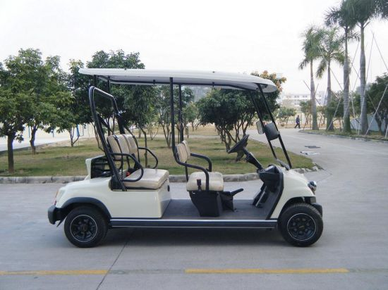 EEC-Approved 4 Seater Electric Golf Car 3.7kw