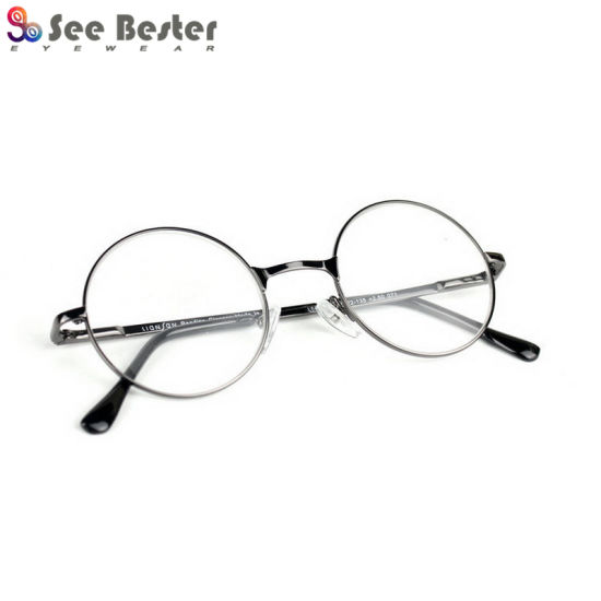 371f79d2ee China Retro Round Stainless Steel Metal Reading Glasses Optical ...