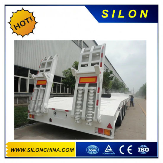 2 Axle 3 Axle 40FT 20FT New 40 Feet Flat Truck Flatbed Container Semi Trailer for Sale pictures & photos