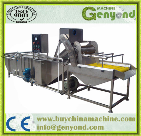 Stainless Steel Potato Peeling Machine pictures & photos