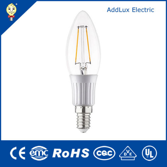 3W E14 SMD Ce UL Saso LED Candle Light Made in China for Bar, Office, Home, Restaurant, Showroom Lighting From Best Distributor Factory