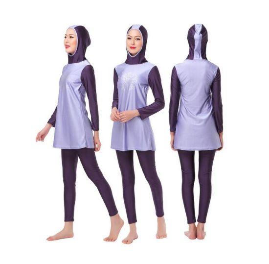 efe837178c 2016 Designer Ladies Modest Islamic Swimear &Muslim Wetsuit pictures &  photos