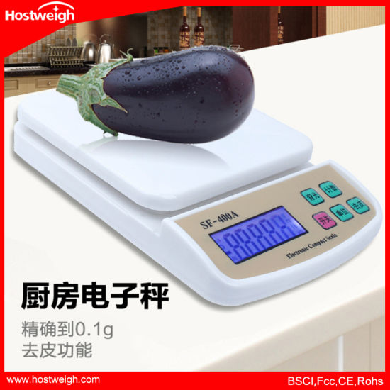 Mini Household Digital Electronic Kitchen Scale with Backlight