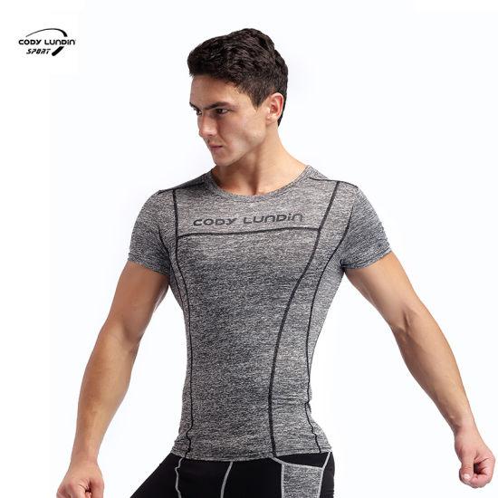 Cody Lundin Custom 100% Cotton Solid Color Premium Oversized Mens Blank T-Shirt