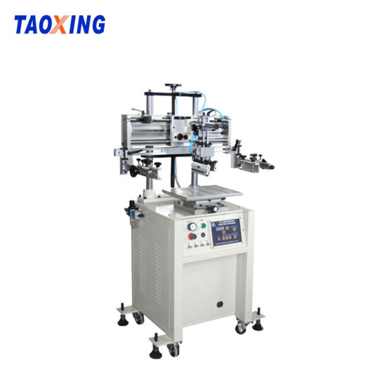Pneumatic Paper, Glass, Sticker, PCB EL Screen Printing Machine Screen Printing Equipment