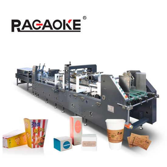 Corrgated Cartoon Box Making Machine Automatic (AS-1100C)