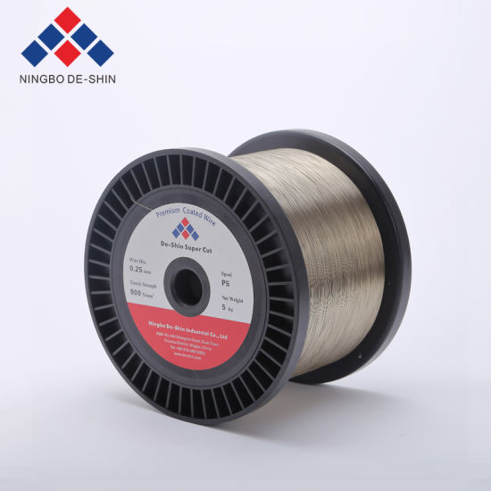 Electrode Wire 0.10, 0.15, 0.20, 0.25, 0.30mm EDM Consumables Super Cut Zinc Coated Wire, Annealed Wire, Gamma Wire