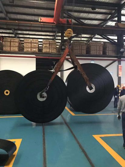 High Abrasive 2/4/6 Ply Rubber Conveyor Farbic Belt Vulcanized