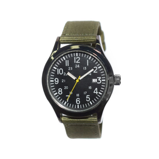 Wholesale Custom Popular Alloy Case Weaving Bracelet Quartz Watch (cm19130)
