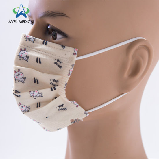 50 PCS Blue Disposable Face Mask Earloop Mouth Cover