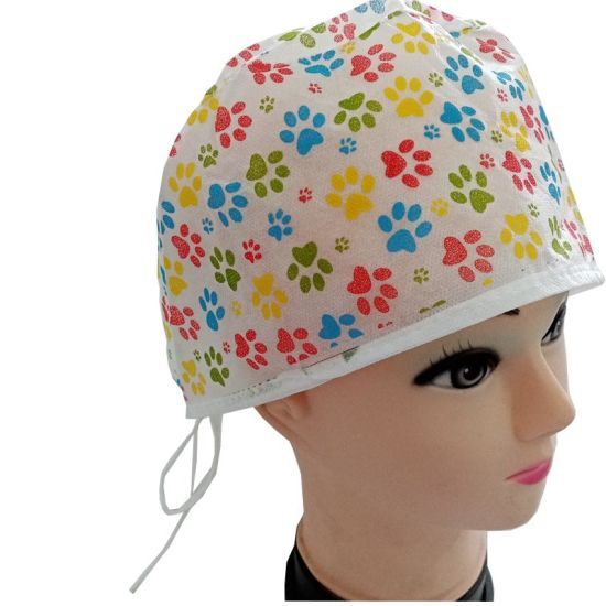 Xiantao Hubei MEK Disposable Non Woven Snood Cap