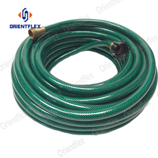 Best Flexible 100 FT No Kink Polyester Fibre Reinforced Heavy Duty Bulk Short Black Pink 1 Inch PVC Water Garden Hose Pipe Sale Supplier