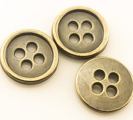 Plastic Button for Garment, Cheap, Factory Directly Supply, Size Customized, pictures & photos