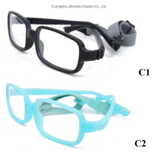Wholesale Spectacles Cute 14 Colors Tr90 Flexible Eyewear Kids Glasses Optical Frame