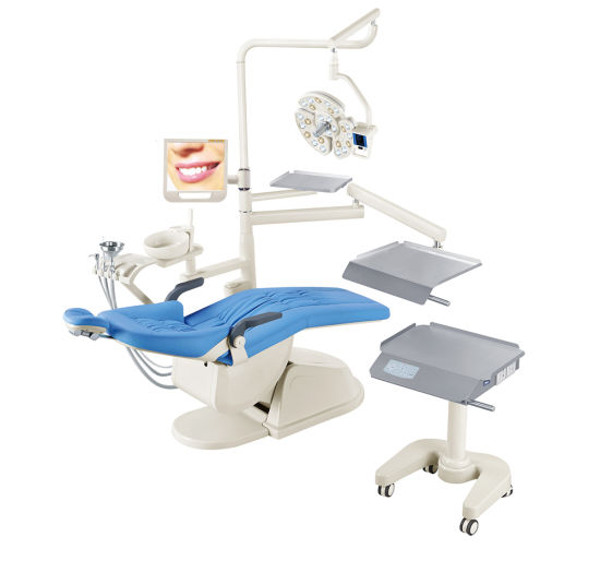 Implant Dental Unit with Stainless Steel Trailer