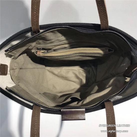 660a2c3540 New Arrival Unique Bucket Design Bag Canvas Leather Handbags Ga24. Get  Latest Price