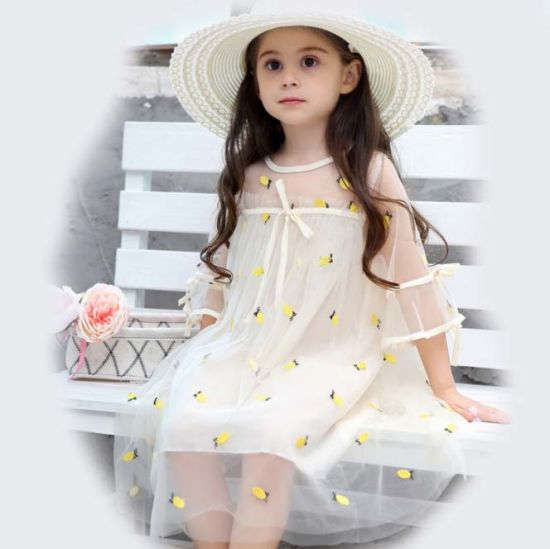 2019 Spring Wholesale 0 6 Years Old New Model Girl Lace Children Dress