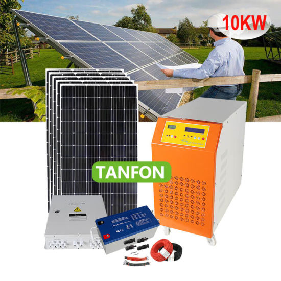New Product 2kw 3kw 4kw 5kw High-Efficiency Home Solar Power System