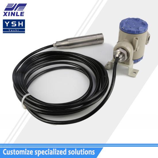 XL-801 Throw-in Type Water Level Pressure Transmitter, 4-20mA Bar Type Water Level Sensor