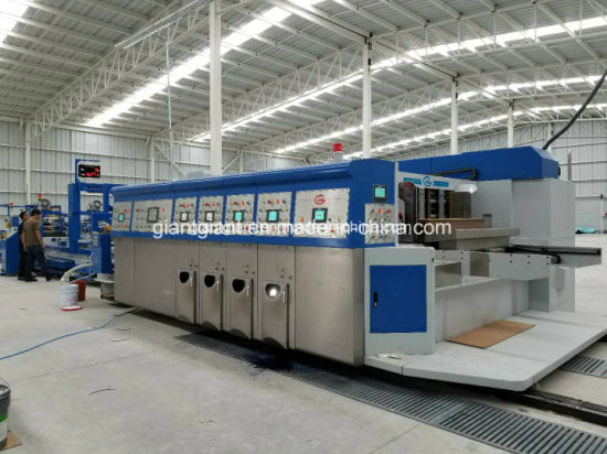 Automatic High Speed Corrugated Carton Box Printing Slotting Die Cutting Packing Machine - Ce BV SGS