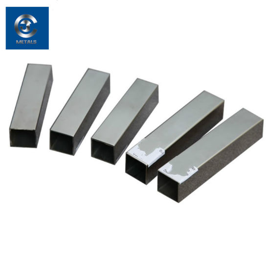 Forging Cold Drawn Polishing Bright Mild Alloy Steel Square Tube 302 Stainless Steel Square Pipe pictures & photos