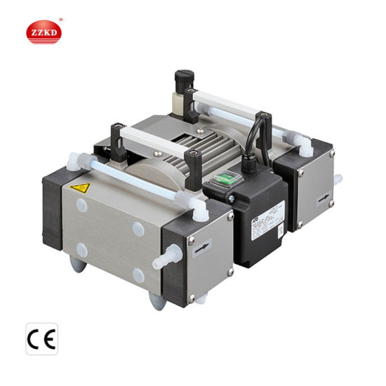 Laboratory Portable Small Oil Free Electric Diaphragm Vacuum Pump pictures & photos