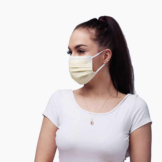 Disposable Non Woven Anti-Dust 3ply Face Mask