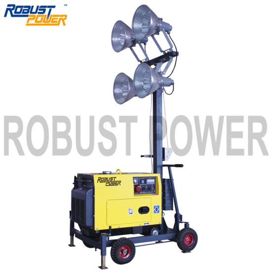 China Mining & Construction Site Portable Mobile Lighting