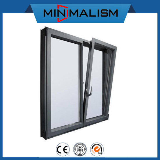 Aluminum Awning Window with Double Insulating Glass for Building
