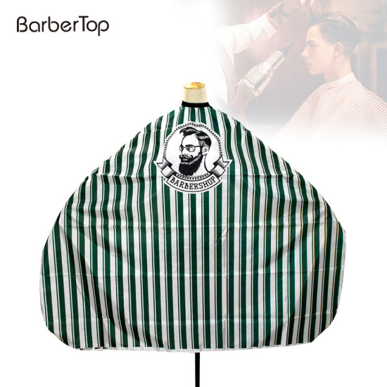 Professional Salon Shop Barber Cutting Capes with Men Image