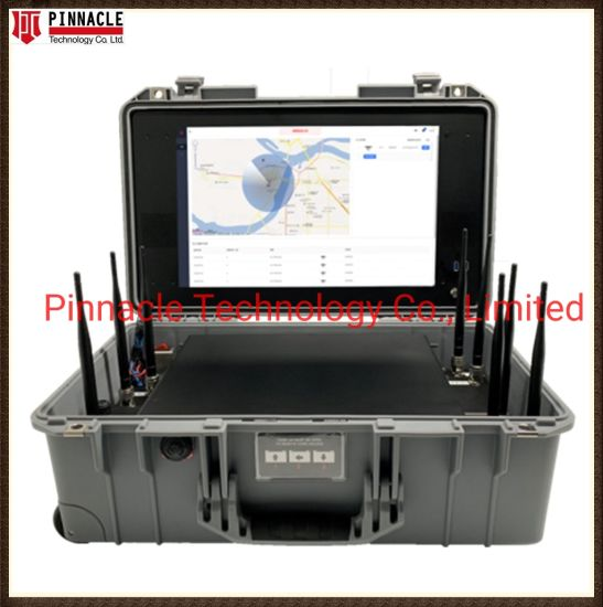 Drone/Uav GPS/Beidou/ Glonass 2.4G/5.8g Signal Detection and Mitigation with 2km Range