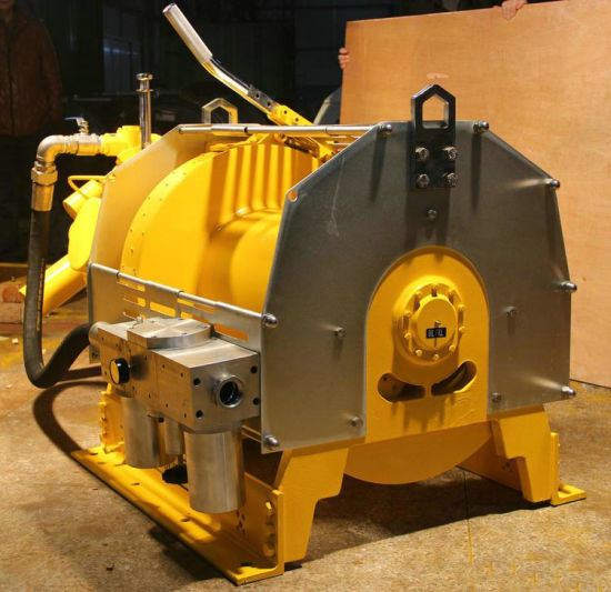 API Approved 10 Ton Cable Winch for Heavy Duty Pulling and Drafting Drilling Platform with Air Brake