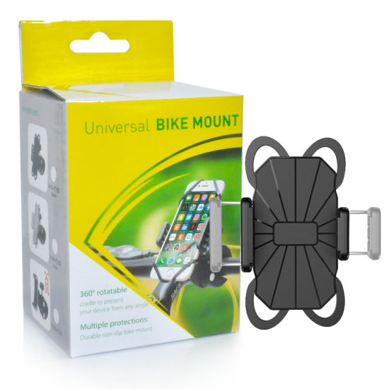 Factory Price Adjustable Flexible Mobile Cell Phone Holder for Bike
