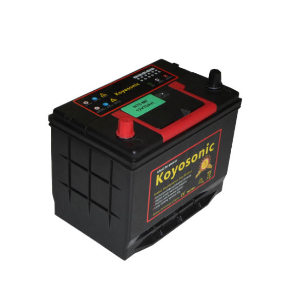 Rechargeable Calcium Battery 12V 75ah Mf Car Battery Automobile Battery Car