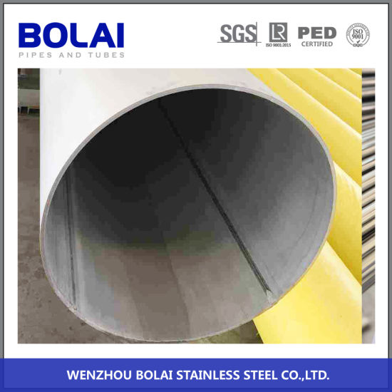 304 304L 316 316L Welded Pipes Stainless Steel Round Pipe for Oil with High Production Efficiency